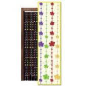 "Flower Power Beaded 78"" Door Curtain"