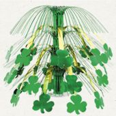 Shamrock Metallic Cascade Centerpiece Table Decorations