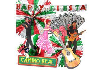 Fiesta party decoration kit