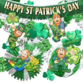 St Patricks Day Decorations Kit Contains 37 Pieces