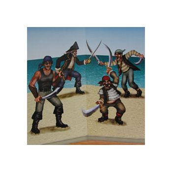 FIGHTING PIRATES ON THE BEACH