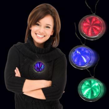 LED Infinity Fusion Necklaces - 12 Pack