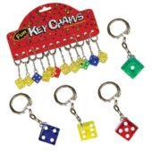 16mm Dice Keychain