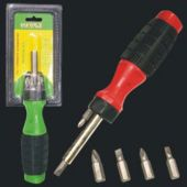 "Six Piece 7 1/2"" Screwdriver Set - 12 Pack"