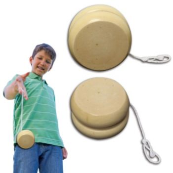 2 and a Half Inch Wooden Yo Yos