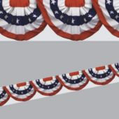 Patriotic Bunting Border Decoration
