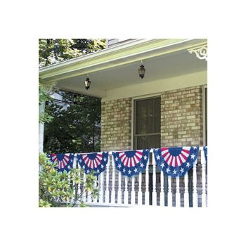 Patriotic Bunting  Garland Decoration