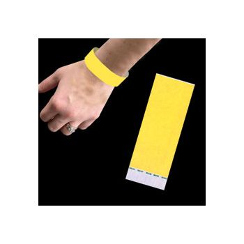 NEON YELLOW   WRIST BANDS
