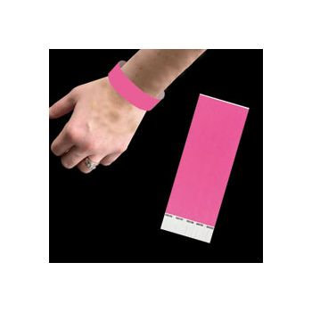 NEON PINK   WRIST BANDS