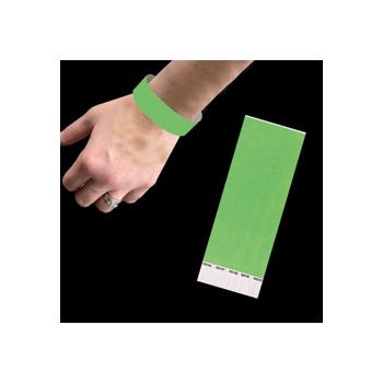 NEON GREEN   WRIST BANDS