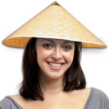 STRAW ORIENTAL   COOLEY HATS