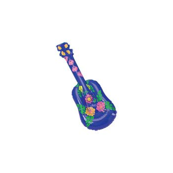 Tropical Inflatable Ukuleles - 22 Inch, 12 Pack