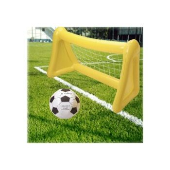 Inflatable Soccer Ball and Goal