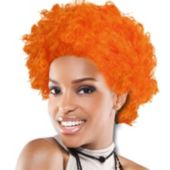 Orange Team Spirit Wig