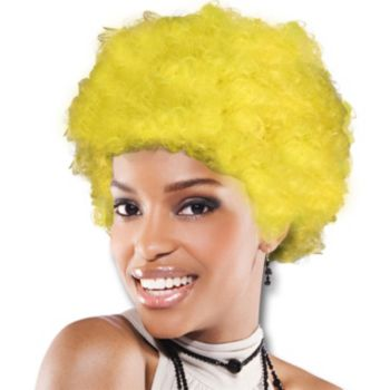Yellow Team Spirit Wig
