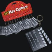 MOVIE CLAP BOARD KEY CHAINS