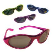 Metallic Funky Sunglasses In Assorted Colors
