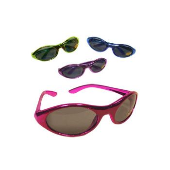METALLIC FUNKY SUNGLASSES