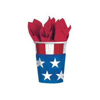AMERICANA 9 oz. CUPS