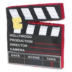 Hollywood Clapboard Pinata