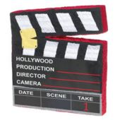 Hollywood Movie Clapboard Pinata And Decoration Centerpiece