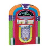 20 Inch 50's Rock And Roll Music Jukebox Pinata