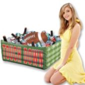 Inflatable Football Fan Cooler