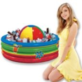 Inflatable Beach Ball Cooler
