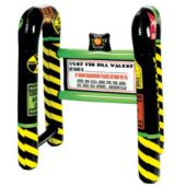 "Inflatable Over The Hill 31 1/4"" x 25 1/2"" Walker"