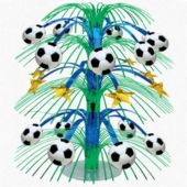 "Soccer Cascade 18"" Centerpiece"
