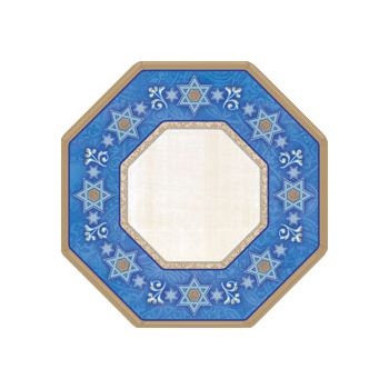 "JUDAIC TRADITIONS   10 12"" PLATES"