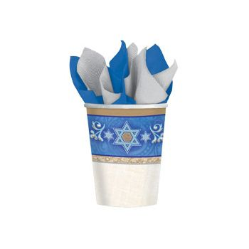 JUDAIC TRADITIONS   9 OZ. CUPS