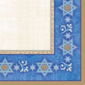 Judaic Traditions Beverage Napkins - 16 Pack