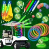 36 Player Glow Flyer Tee Off Package