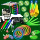 60 Player Glow Flyer Fairway Package