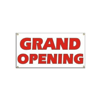 Grand Opening Heavy Duty Vinyl Banner Business Signs