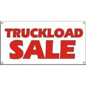 Truckload Sale Vinyl Banner Business Signs