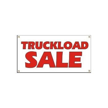 Truckload Sale Heavy Duty Vinyl Banner Business Signs