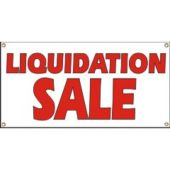Liquidation Sale Vinyl Banner Business Signs