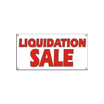 Liquidation Sale Heavy Duty Vinyl Banner Business Signs