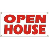 Open House Vinyl Banner Business Signs