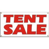 Tent Sale Vinyl Banner Business Signs