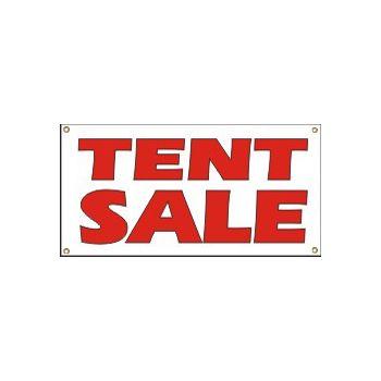 Tent Sale Heavy Duty Vinyl Banner Business Signs