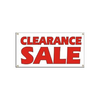Clearance Sale Heavy Duty Vinyl Banner Business Signs