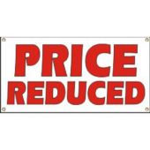 Price Reduced Vinyl Banner Business Signs