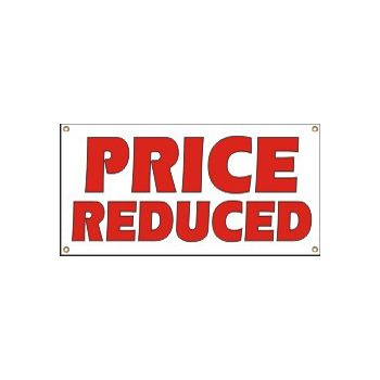 Price Reduced Heavy Duty Vinyl Banner Business Signs