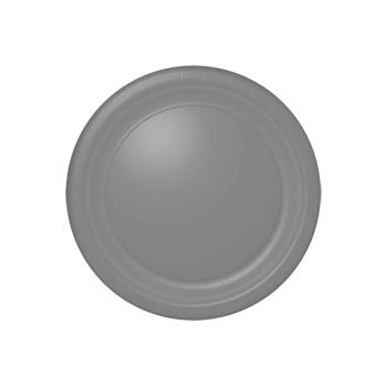 "SILVER SOLID   10 12""PLATES"
