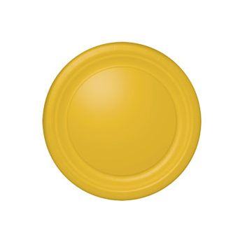 "SUNFLOWER YELLOW   10 12"" BANQUET PLATES"