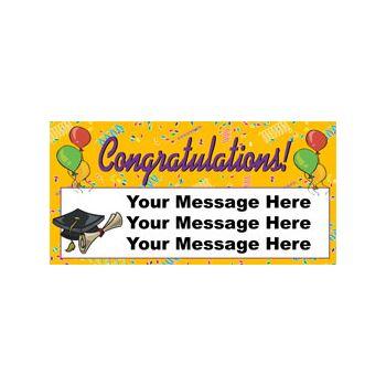 Congratulations Graduate Custom Banner