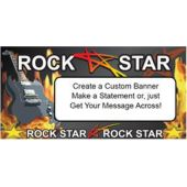 Rock Star Custom Message Banner